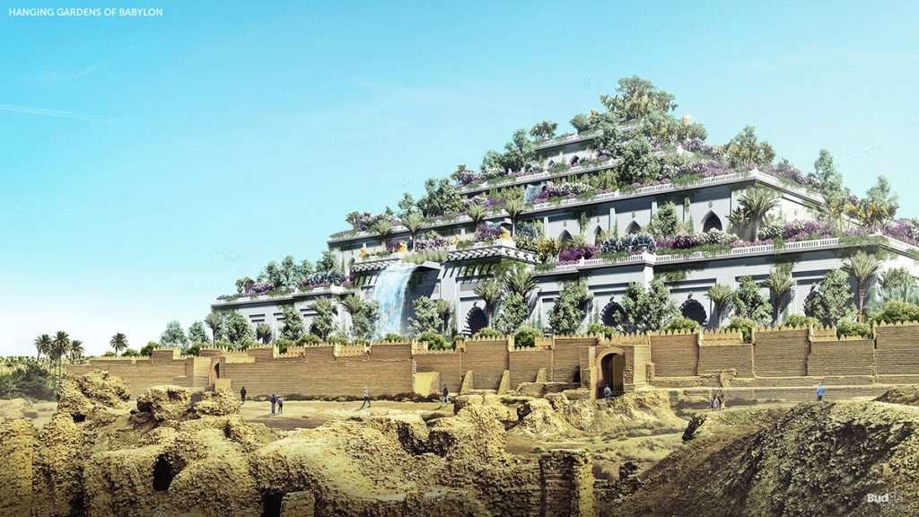 Babil'in Asma Bahçeleri (M.Ö. 605)