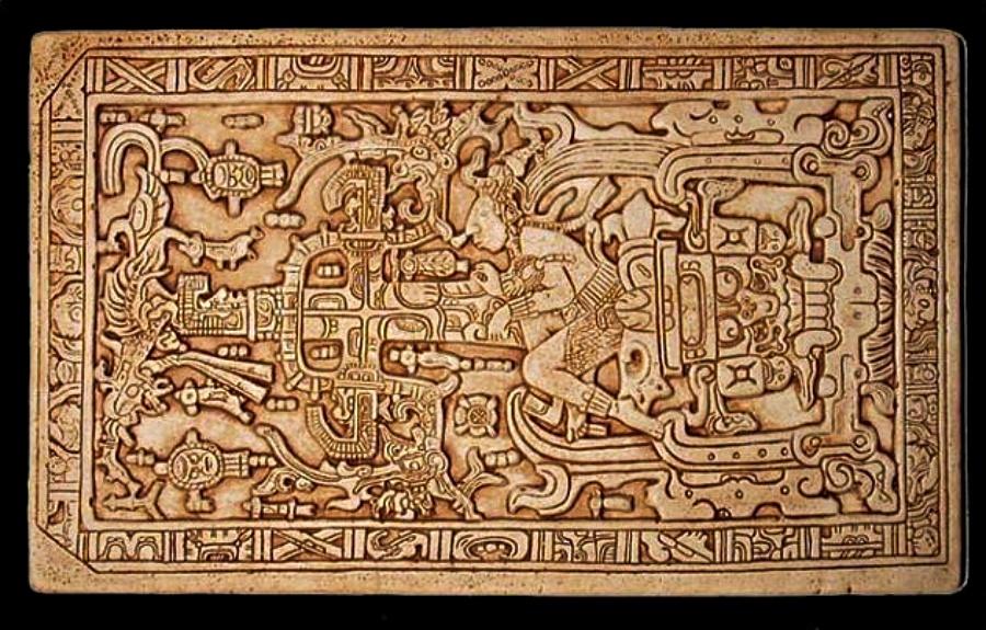 Esrarengiz Palenque Mezar Taşı