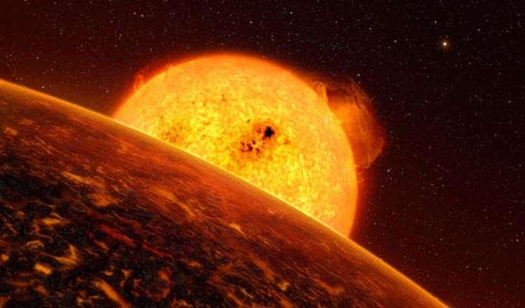 COROT-7b Gezegeni