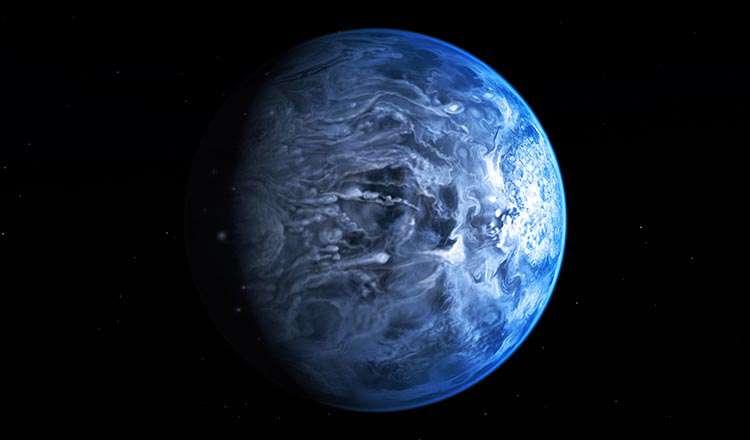 HD189773-b Gezegeni