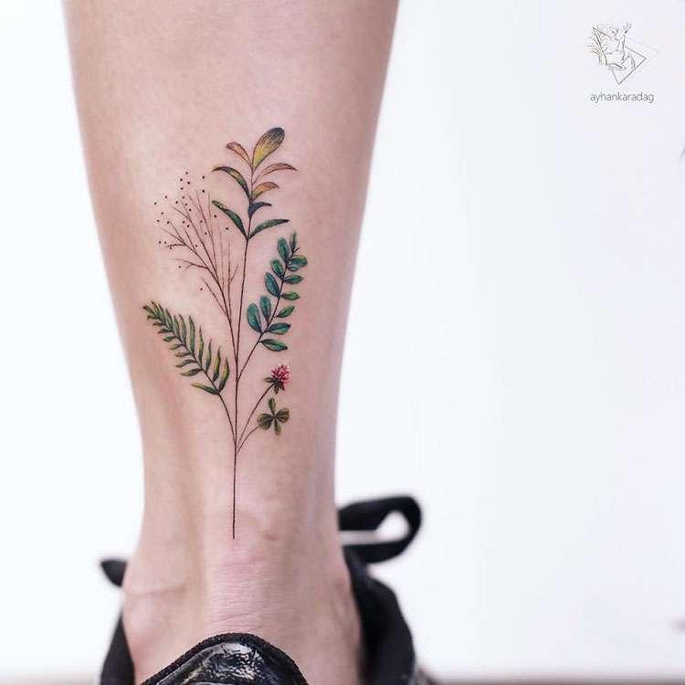 Mini Dövme Modelleri : Ayhan Karadağ