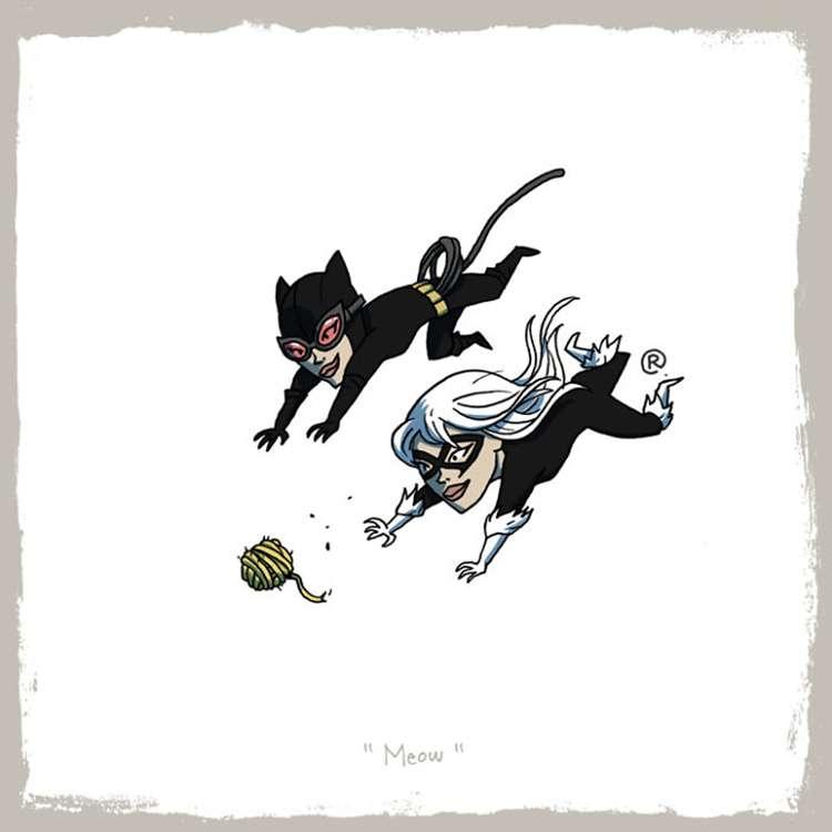 Catwoman / Black Cat