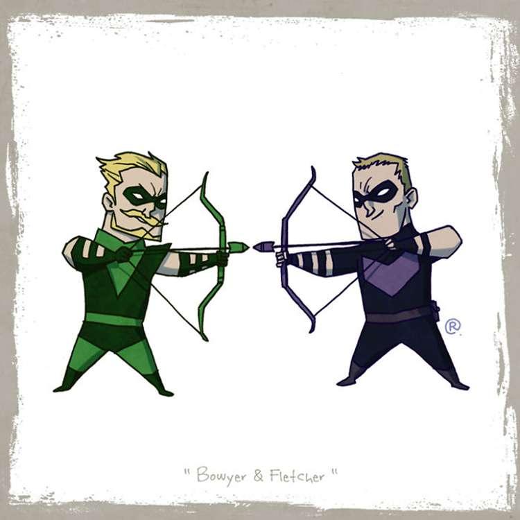 Green Arrow / Hawkeye