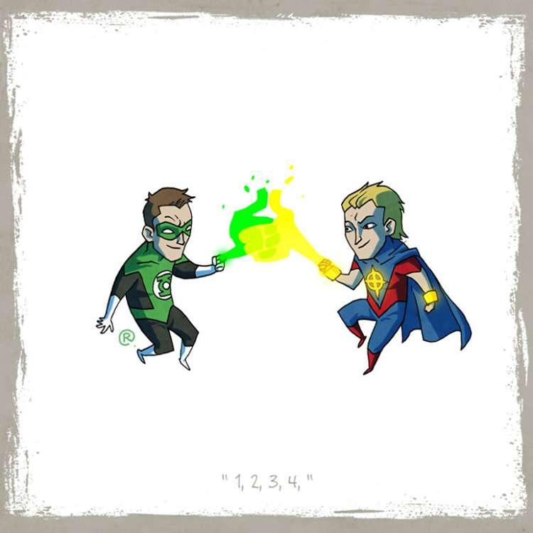 Green Lantern / Quasar