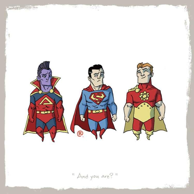 Superman / Gladiator / Hyperion