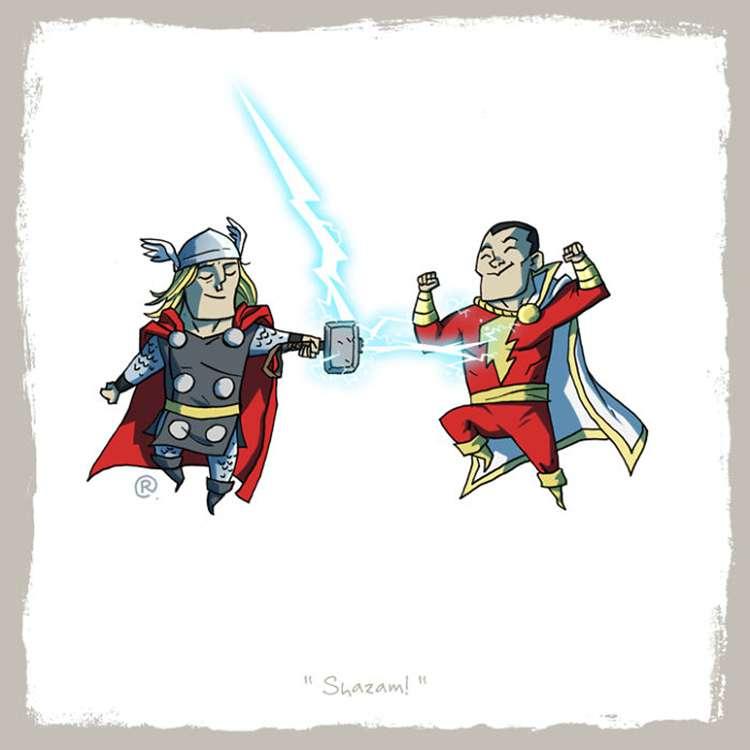 Thor / Shazam