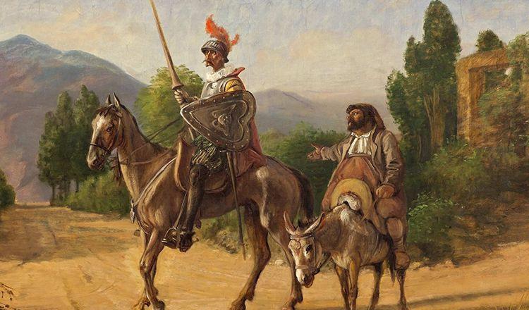 Don Kişot, Cervantes