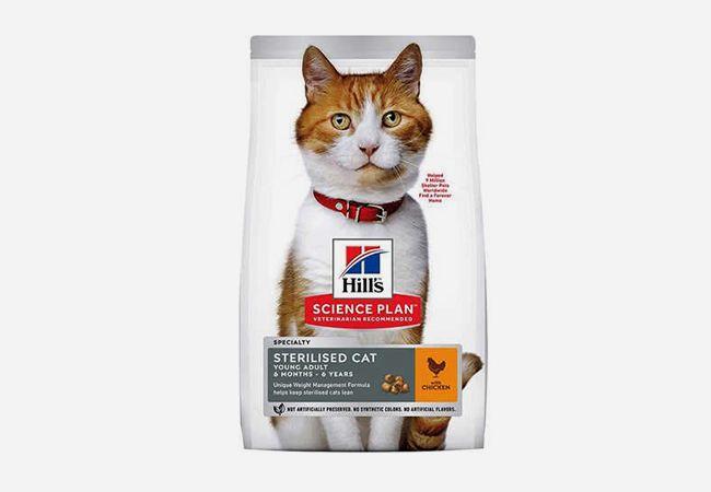 Hill's Tavuklu Kısırlaştırılmış Yaşlı Kedi Maması